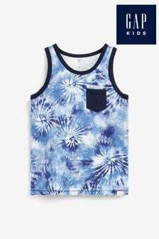 Gap Tie Dye Pocket Vest