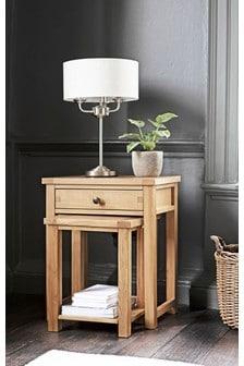 Thornley Oak Nest Of 2 Tables