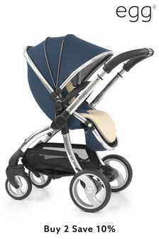 Deep Navy Egg Stroller By Babystyle