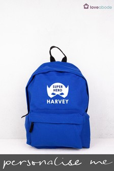 Personalised Hero Backpack by Loveabode