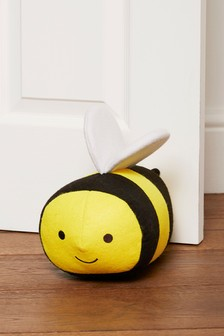 Happy Bee Doorstop