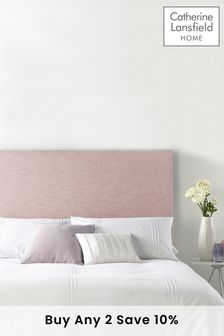 Rose Pastel Collection Headboard By Catherine Lansfield