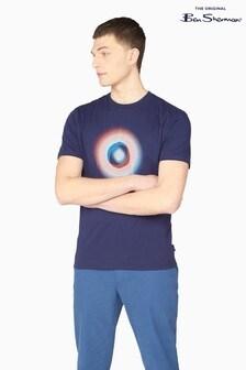 Ben Sherman Marine Half Tone Target T-Shirt