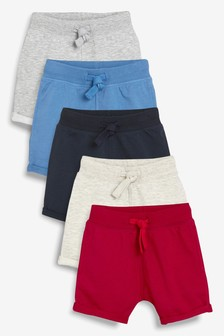 Multi Shorts Five Pack (3mths-7yrs)