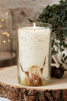Lemon & Bergamot Cow Candle