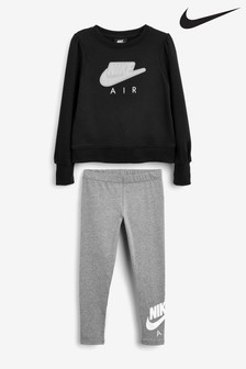 Nike Little Kids AIR Crew And Joggers Set