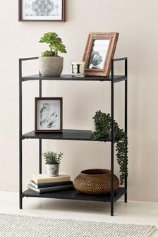 Low Black Shelf