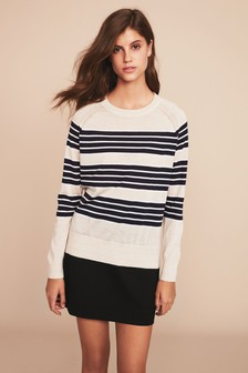 Black  Ponte Mini Skirt
