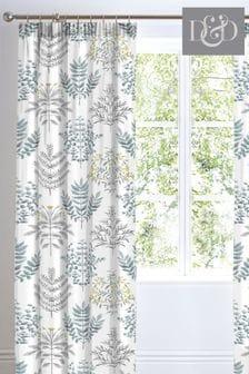 D&D Maisie Pencil Pleat Curtains