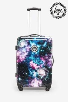 Hype. Medium Space Print Suitcase