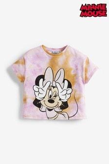 Orange License Disney™ Minnie Mouse™ Tie Dye T-Shirt (3-16yrs)