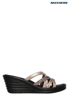 Skechers® Black Rumbler Wave New Lassie Sandal