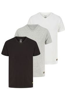 Lyle & Scott V-Neck Lounge T-Shirts 3 Pack
