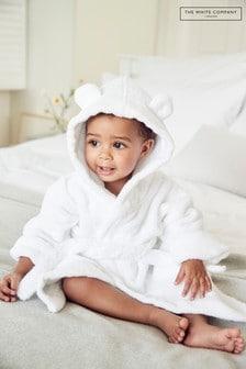 The White Company White Hydrocotton Baby Robe