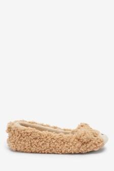Bear Ballerina Slippers