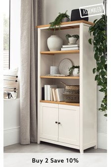 White Thornley Bookcase