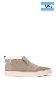 TOMS Paxton Faux Fur Slip On Shoes