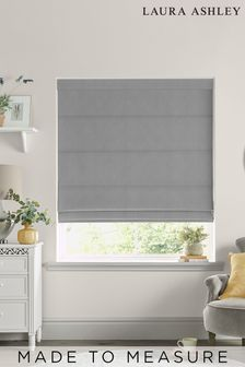 Laura Ashley Swanson Steel Made to Measure Roman Blind