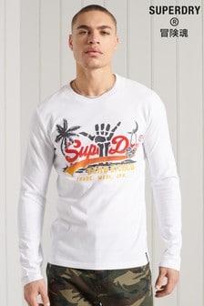 Superdry Vintage Logo Itago Long Sleeve Top