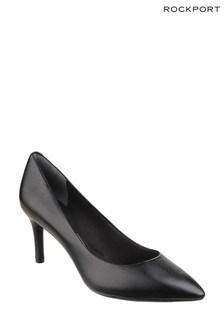 Rockport Black Patent Total Motion Point Toe Stiletto Shoes