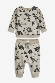Mink Jumper And Joggers Co-ord Two Piece Set (0mths-2yrs)