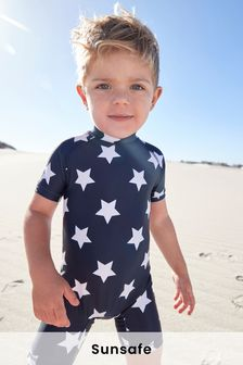 Navy Star Sunsafe Swimsuit (3mths-7yrs)