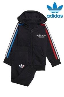 adidas Originals Infant Black Tracksuit