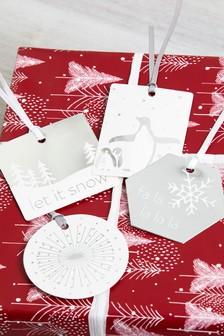 Set of 40 Christmas Gift Tags
