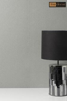Fine Décor Mid Grey Milano 8 Plain Wallpaper