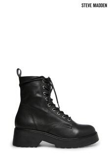 Steve Madden Black Tornado Boots