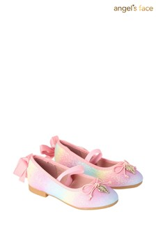 Angel's Face Pink Lillie Toddle Pumps