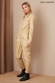 Sofie Schnoor Camel Boilersuit