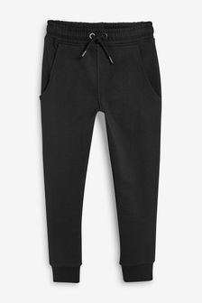 Black Skinny Fit High Waist Joggers (3-16yrs)