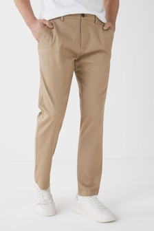 Stone Slim Fit Motion Flex Stretch Chino Trousers