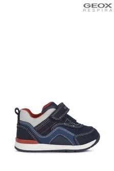 Geox Baby Boy/Unisex's Rishon Navy/Grey Shoes