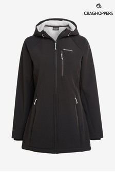 Craghoppers Black Ara Weather Proof Jacket