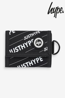 Hype. Black Logo Wallet