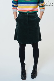 M&Co Cord A-Line Skirt