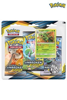 Pokémon Triple Booster Pack Trading Cards