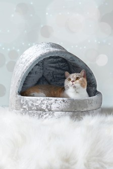 Velour Pet Igloo