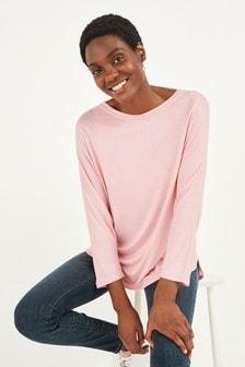 Light Pink Viscose Dolman Sleeve Top