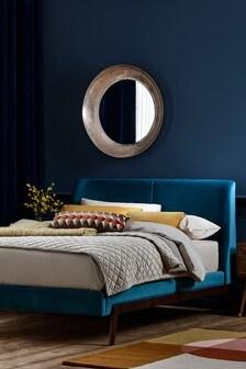 Opulent Velvet Teal Carter Bed
