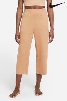 Nike Yoga Off Matt Fleece Cropped Joggers