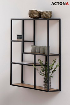 Oak Seaford Wall Shelf By Actona