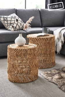 Woven Nest Of Tables