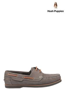 Hush Puppies Green Henry Classic Lace-Up Shoes