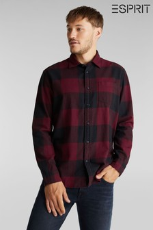 Esprit Red Check Woven Shirt