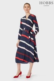 Hobbs Blue Ginnie Dress