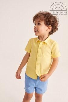 Little Bird Yellow Short Sleeve Shirt