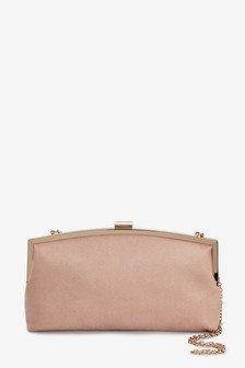 Nude Frame Clutch Bag